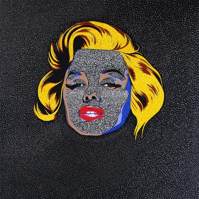, 'Black Marilyn,' 2019, HG Contemporary