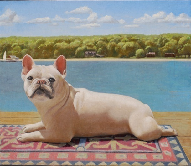 , 'Dog on Dock,' , Zenith Gallery