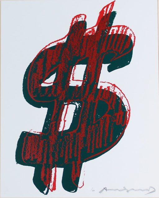 Andy Warhol, 'Dollar Sign, Red (FS II.278)', 1982, Revolver Gallery