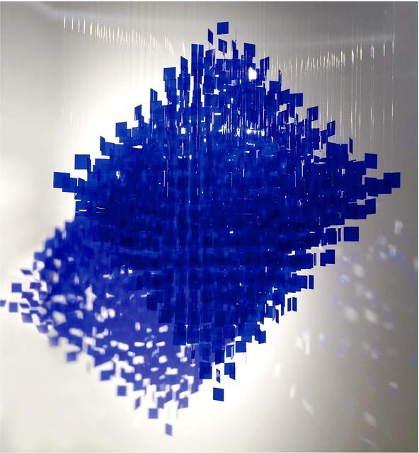 , 'Polyedre bleu,' 2012, Del Infinito