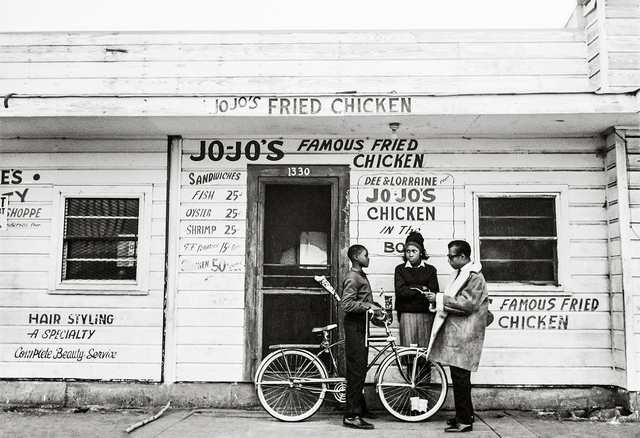 , 'James Baldwin, Jojo's Fried Chicken, New Orleans,' 1963, Fahey/Klein Gallery