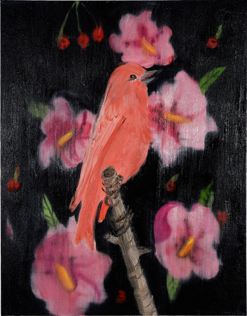 , 'Pink Song (on Black with Cherries), 2018,' 2018, Maccarone