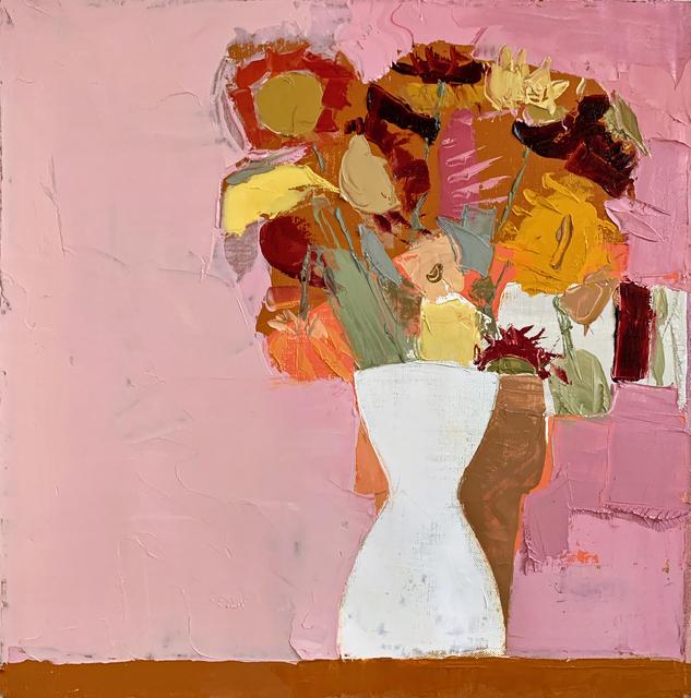 Sydney Licht, 'Still Life with White Vase and Pot', 2019, Kathryn Markel Fine Arts