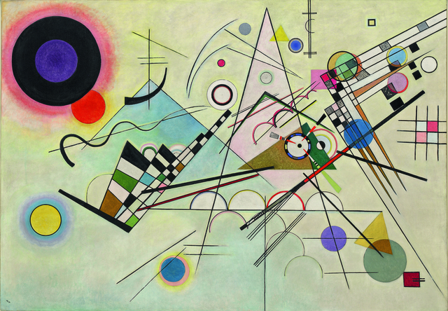 , 'Composition 8 (Komposition 8),' July-1923, Guggenheim Museum