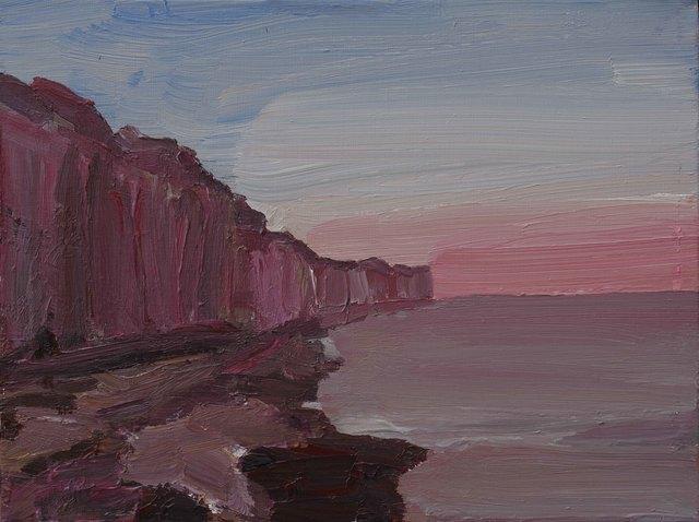 , 'Silent Cliffs 5,' 2014, Katrine Levin Galleries
