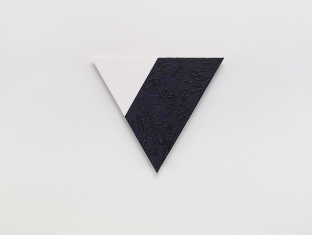 , 'Angles (White and Blue),' 2001, Sandra Gering Inc