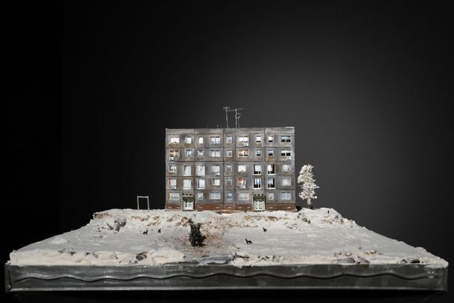 Michele Bressan, 'Like in One of My Dreams #0', 2020, Installation, Table and scale model, Art Encounters Foundation