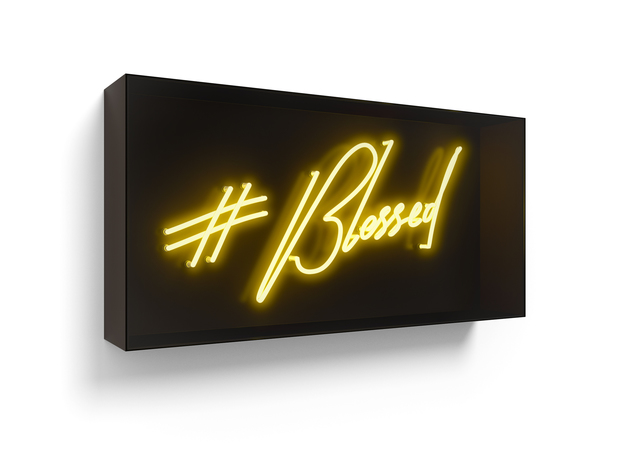 David Drebin, '#Blessed', 2017, Other, Neon Light Installation, Contessa Gallery