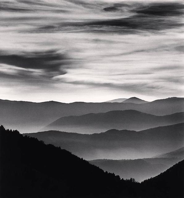 Michael Kenna, 'Distant Mountains, Passo delle Capannelle, Study l, Aquila, Abruzzo, Italy.', 2015, Weston Gallery