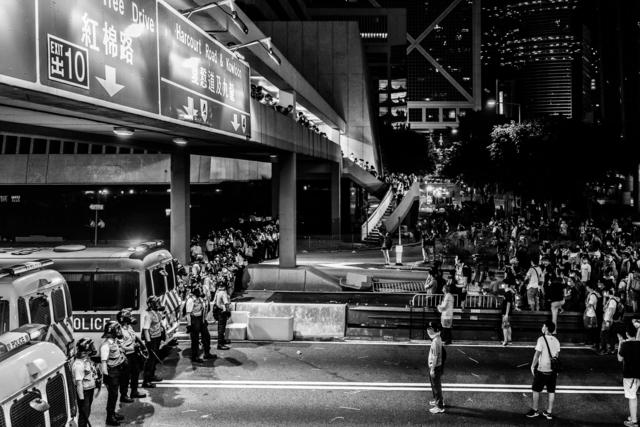 , 'Occupy HK 09,' 2014, Christine Park Gallery