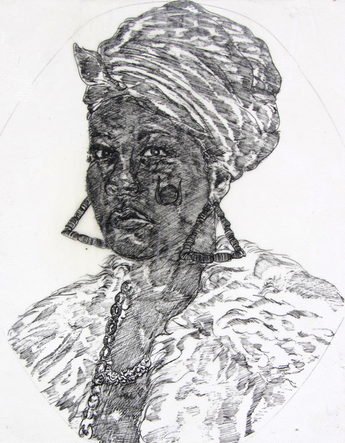 , 'Alecto, leader of The Furies,' 2017, Johannes Vogt Gallery