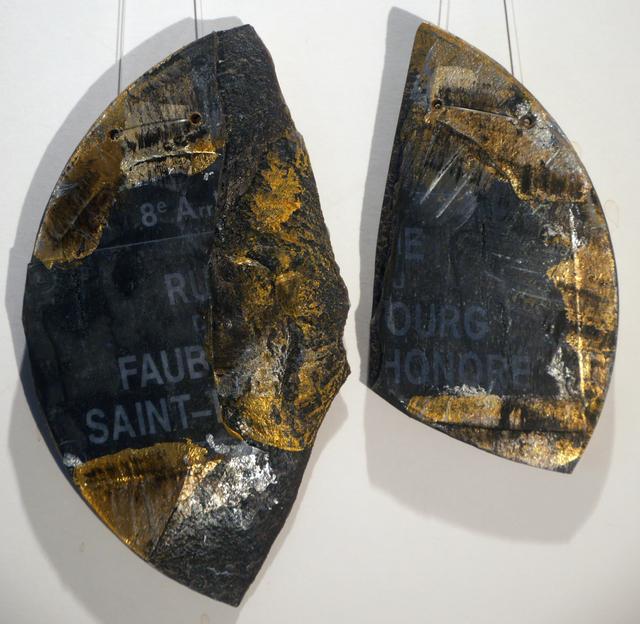 , 'Fragment Rue du Faubourg Saint Honoré,' 2017, Galerie Geraldine Banier