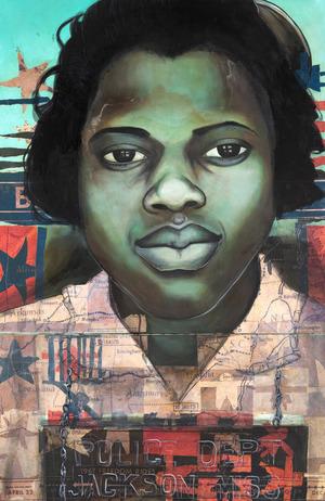 Charlotta Janssen, 'Gainel Hayes (Profile) 15 yrs, from Jackson Mississippi Arrested 7/9/1961 Jackson MS', 2011, Hudson Milliner Art Salon