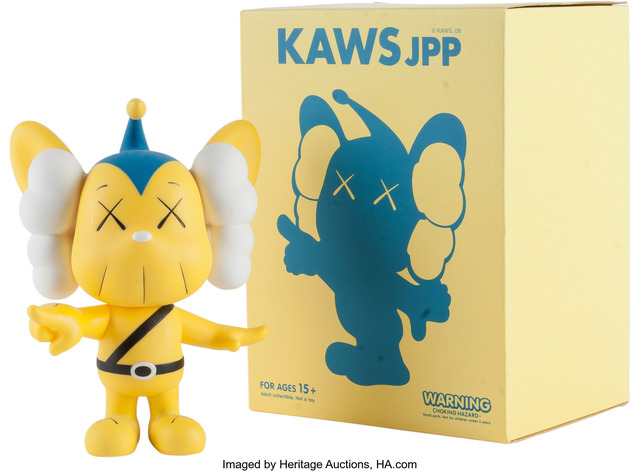 KAWS, 'JPP (Yellow)', 2008, Heritage Auctions