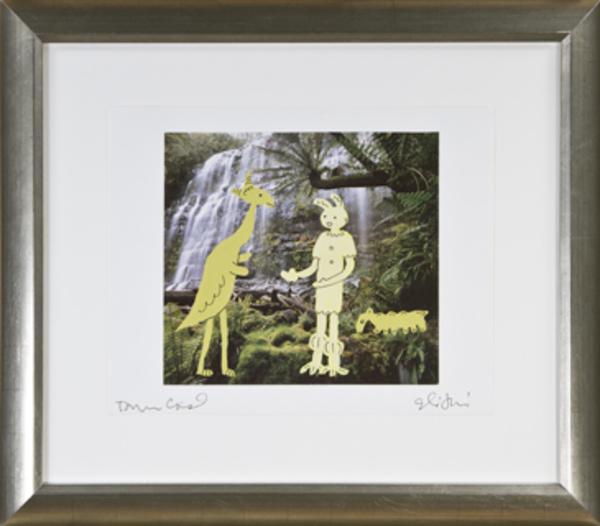 , 'Sharing Scooter Thoughts at the Sacred Falls,' 1975, David Barnett Gallery