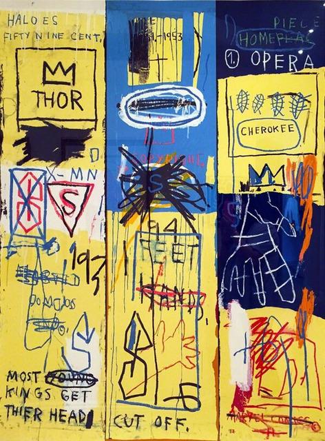 Jean-Michel Basquiat, 'CHARLES THE FIRST 1982 BY JEAN-MICHEL BASQUIAT', 2005, Marcel Katz Art