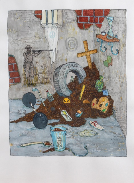 , 'P.T.S.D. Tires,' 2009, Hosfelt Gallery