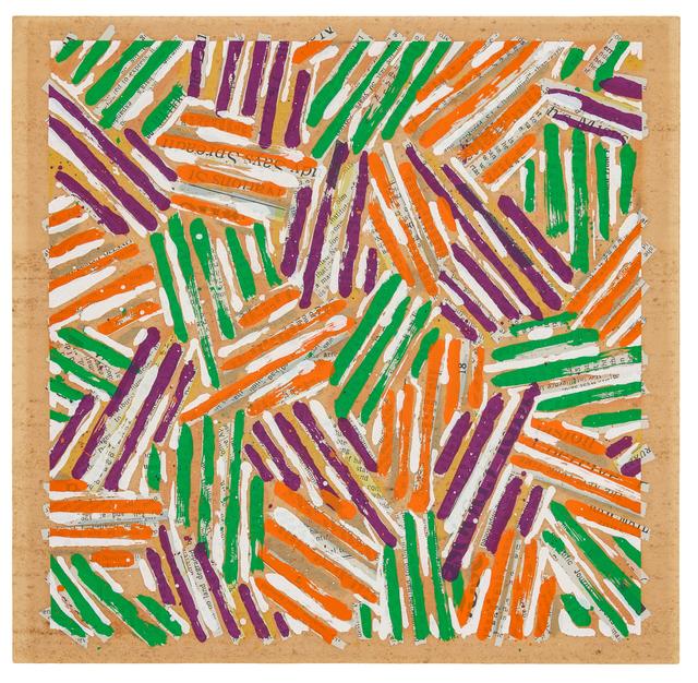 Jasper Johns, 'Untitled (catalogue cover for Jasper Johns / Screenprints)', 1977, Hindman