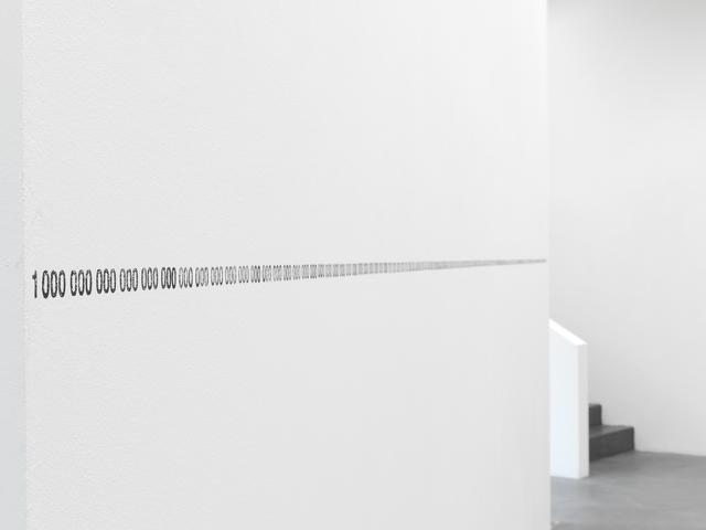 , 'Horizon,' 2000, Kunsthaus Baselland