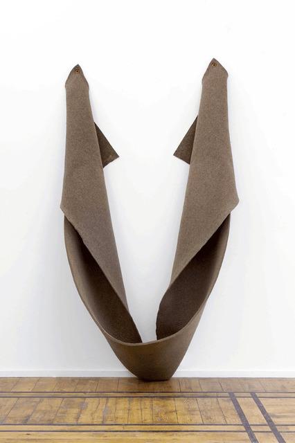 , 'Untitled (grey felt),' 1974, Galleria Fumagalli