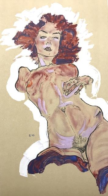 , 'Female Nude,' 2007, Wallector