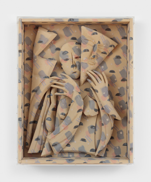 , 'New Face,' 2018, Rachel Uffner Gallery