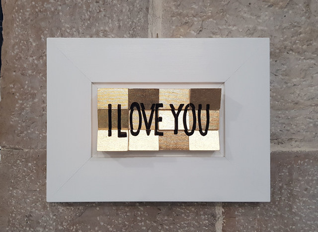 , 'Love or Be Loved,' 2018, Flat Space Art