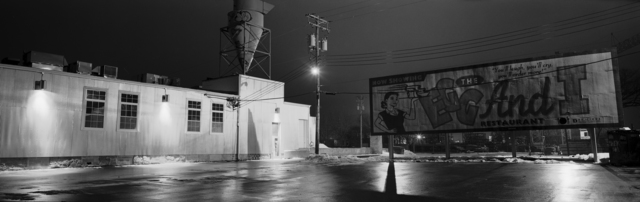 , 'The Egg and I Parking Lot and Sign, Minneapolis, Minnesota,' 2000, Rosier Gallery