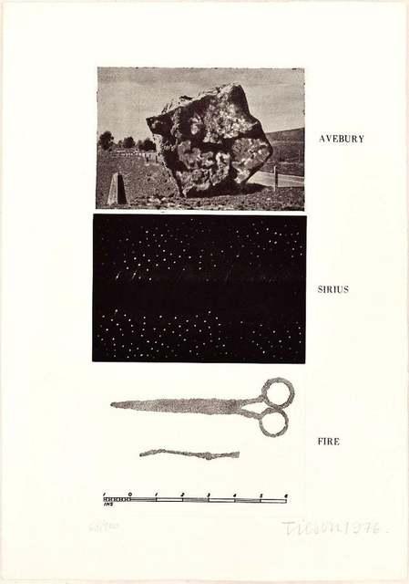 Joe Tilson, 'Avebury, Sirius, Fire', 1976, Wallector
