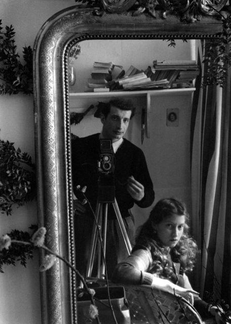 , 'Autoportrait with Lella,' 1951, °CLAIR Galerie