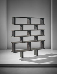 Unique bookcase, designed for Henri Ingber