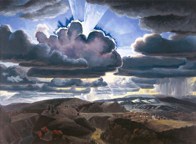 , 'Sunburst,' 1929-1931, Montclair Art Museum