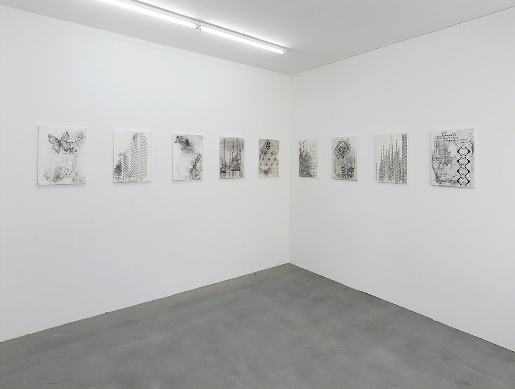 "installation view ""Currency Galore"", Kadel Willborn, Düsseldorf, Germany, 2014"