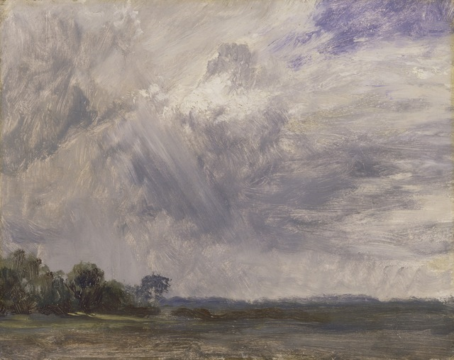 John Constable, 'Study of a Cloudy Sky', ca. 1825, Yale Center for British Art