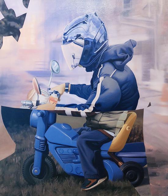 , 'Still They Ride,' 2018, NextStreet Gallery
