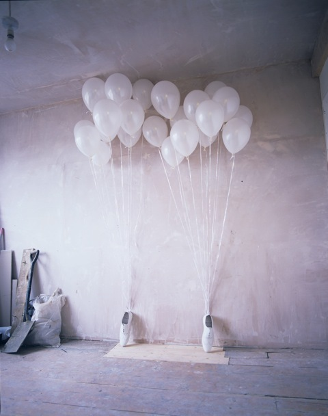 , 'Shoes with Balloons,' 2010, Garis & Hahn