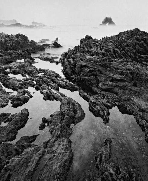 , 'Arch Rock, and Tide Pools, Corona Del Mar,' 1988, Susan Spiritus Gallery