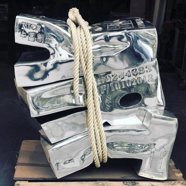 Stéphane Cipre, 'Art Sanglé', 2018, Sculpture, Aluminium, Bogena Galerie