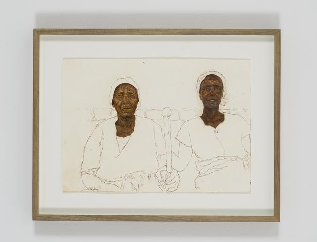 , 'Portrait of Mbuya vaJojisa Zowa naGogo Petronella Chikanza,' 2018, Tyburn Gallery