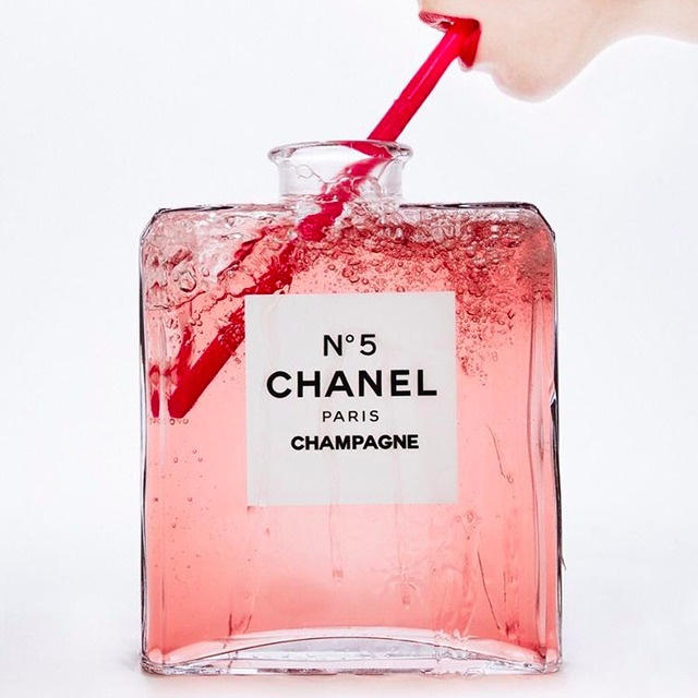 , 'No. 5 Chanel Champagne,' 2016, Imitate Modern