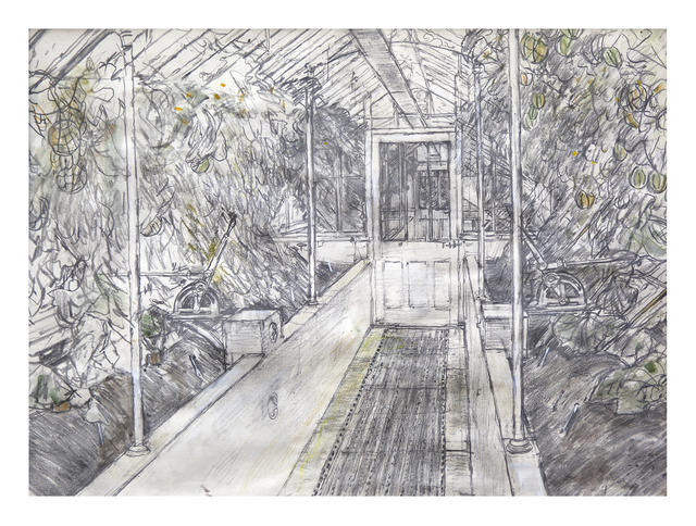 , 'The Melon House, West Dean,' 2016, Royal Academy of Arts