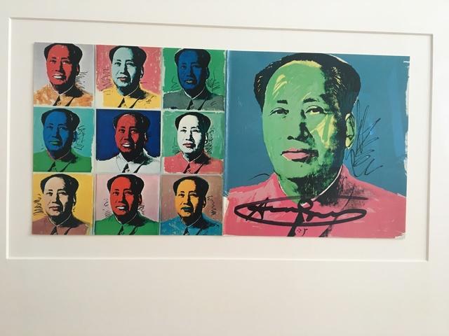 Andy Warhol, 'Mao Announcement', 1972, Frank Fluegel Gallery