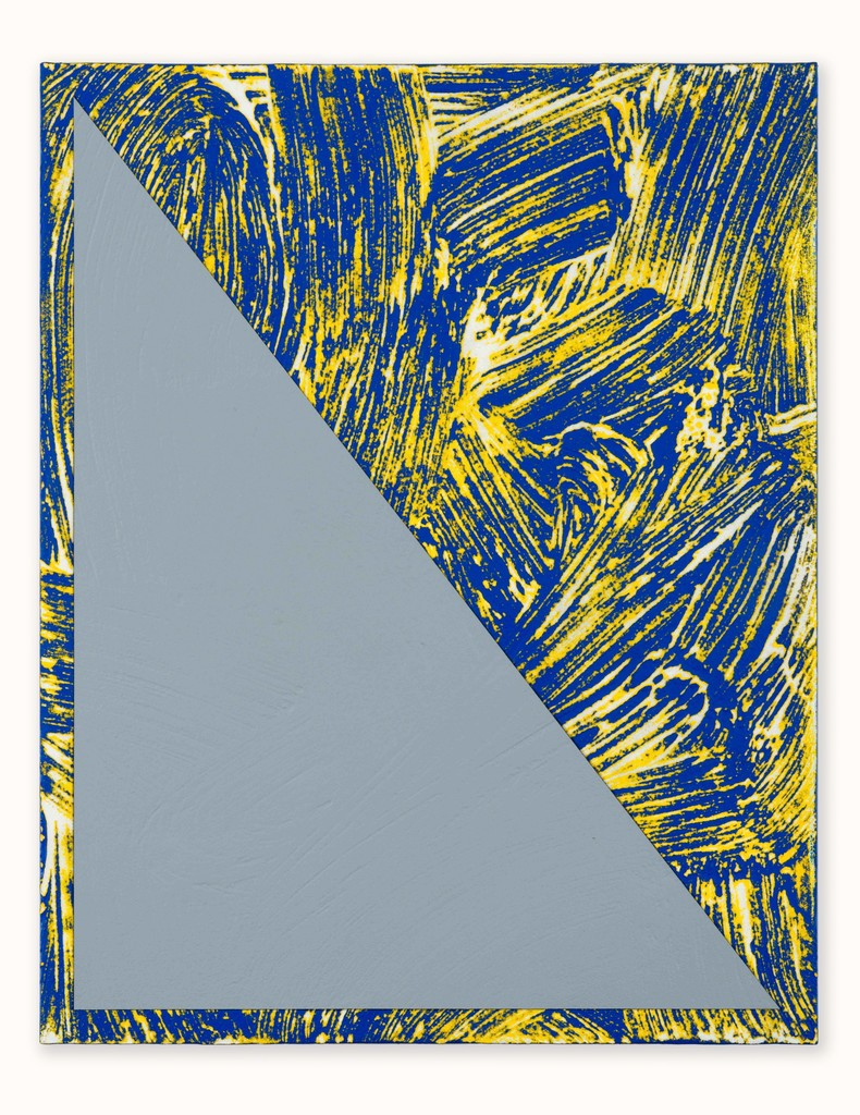 Untitled (Triangle Painting #14)