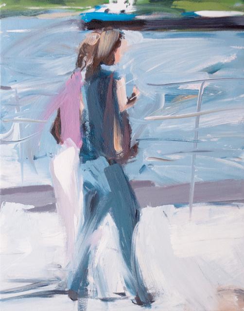 Alireza Varzandeh, 'Am Rhein II', 2019, Caldwell Snyder Gallery