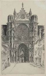 Gothic Glory, Sens Cathedral (Fletcher 218)