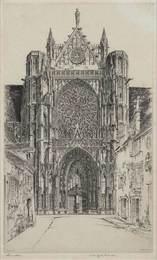 Gothic Glory, Sens Cathedral (Fletcher 218)