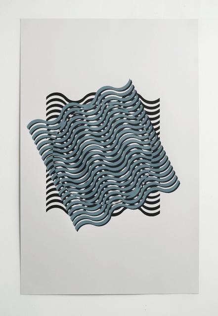 , 'Japanese Optical and Geometrical Art (p. 110),' 2017, Die Ecke Arte Contemporáneo