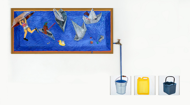 Richard Mudariki, 'Turbulent Water ', 2018, Barnard