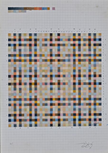 , 'Carrés Rythmiques, 2306,' 1966, KaBe Contemporary