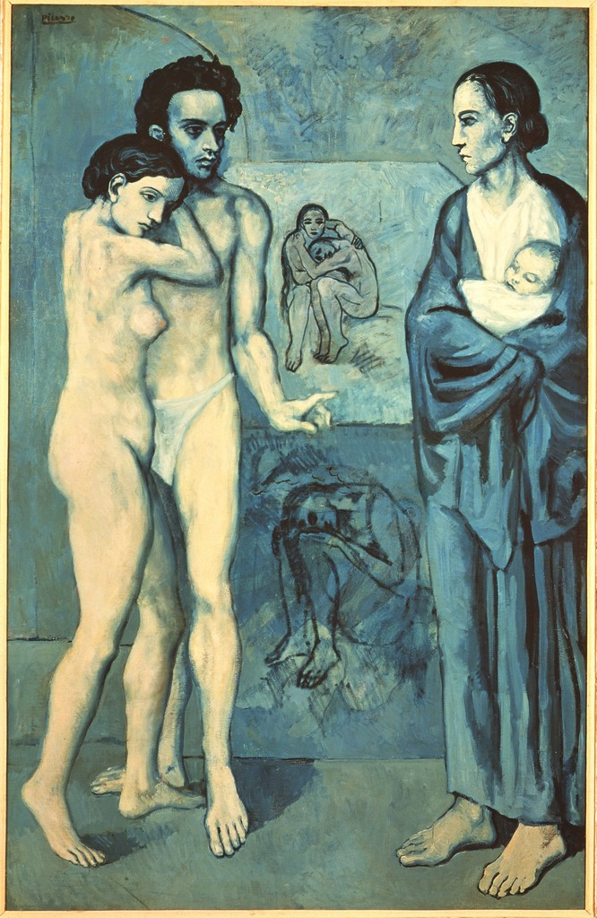 Pablo Picasso, 'La Vie [Life],' 1903, ARS/Art Resource